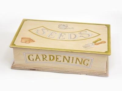 Large Seed Storage Box