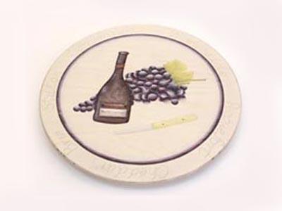 Cheese n wine lazy susan