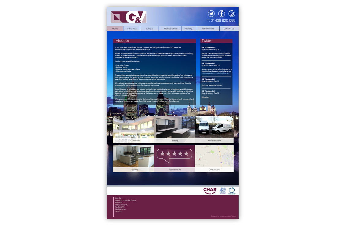 G&V Joinery