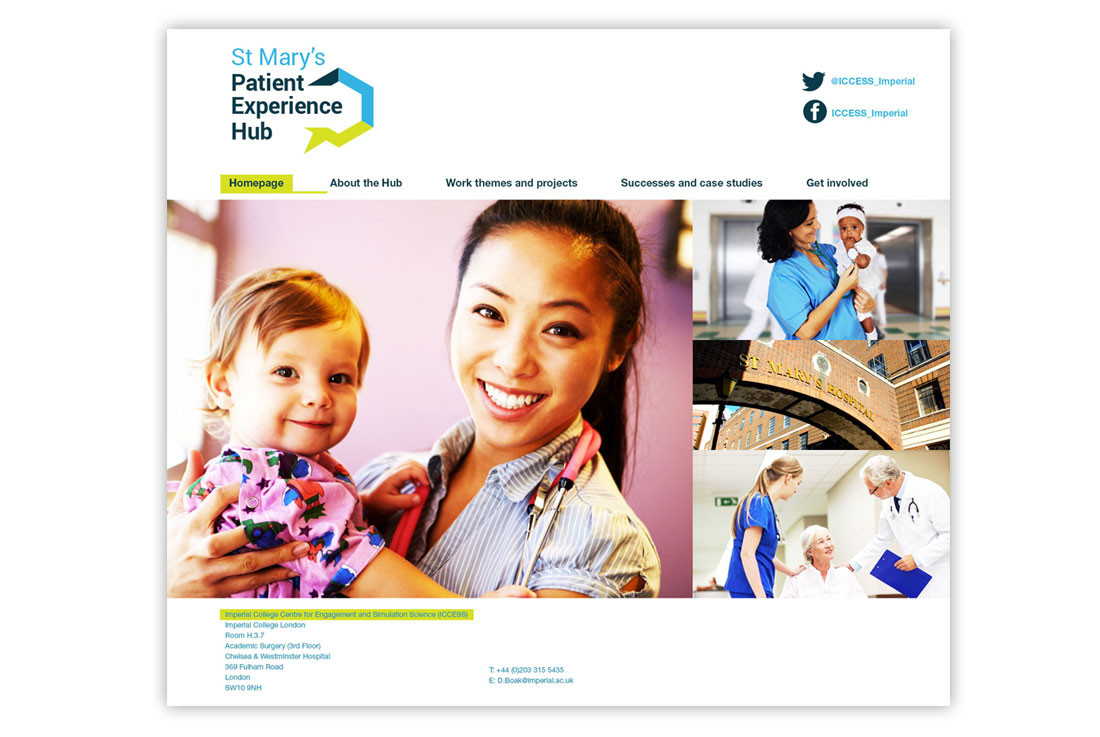 St Mary's Patient Experience Hub